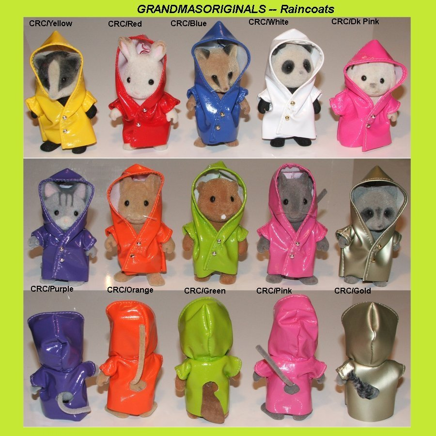 Child Raincoats in 10 colours