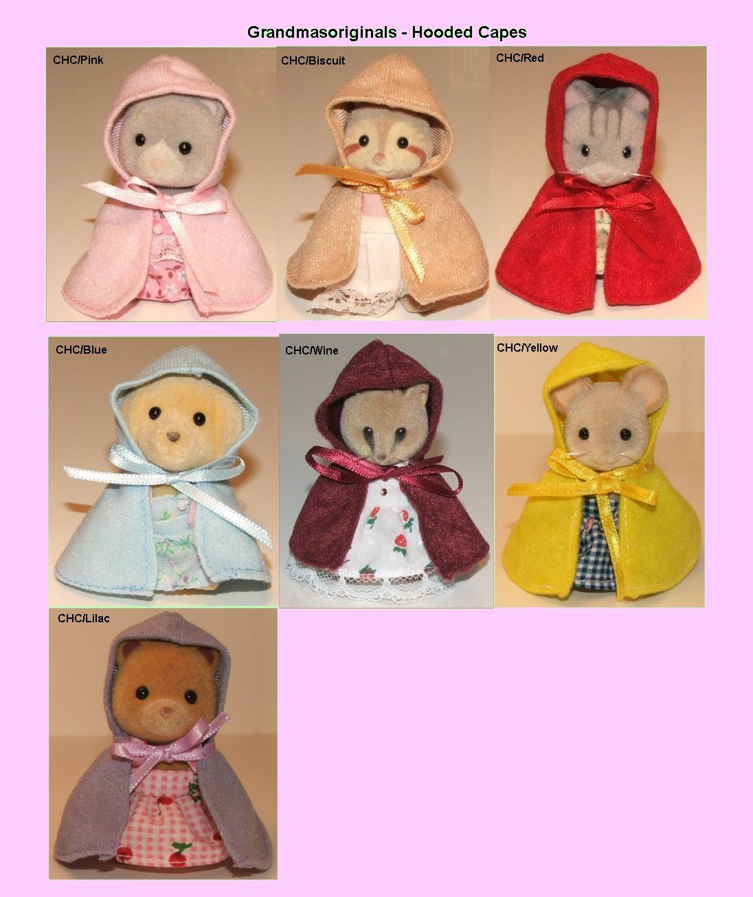 Hooded Capes for child small mum