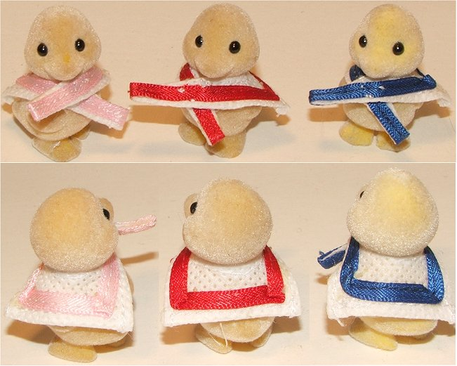 New outfits for Ducklings