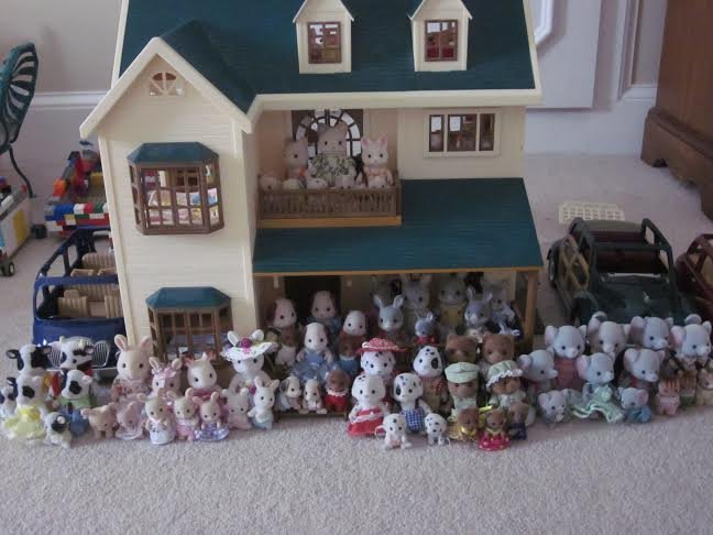 Collection of Sylvanian Families