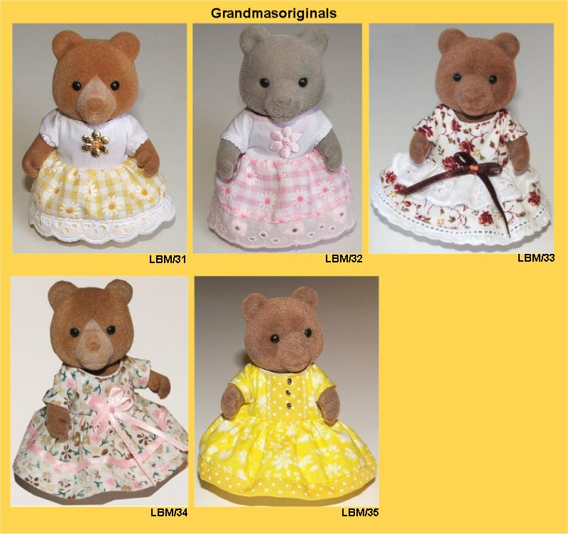 large bear summer dresses