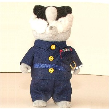 Policeman Badger outfit